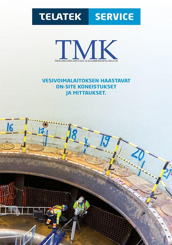 Telatek TMK – Demanding on-site machining and measurements for hydropower plants